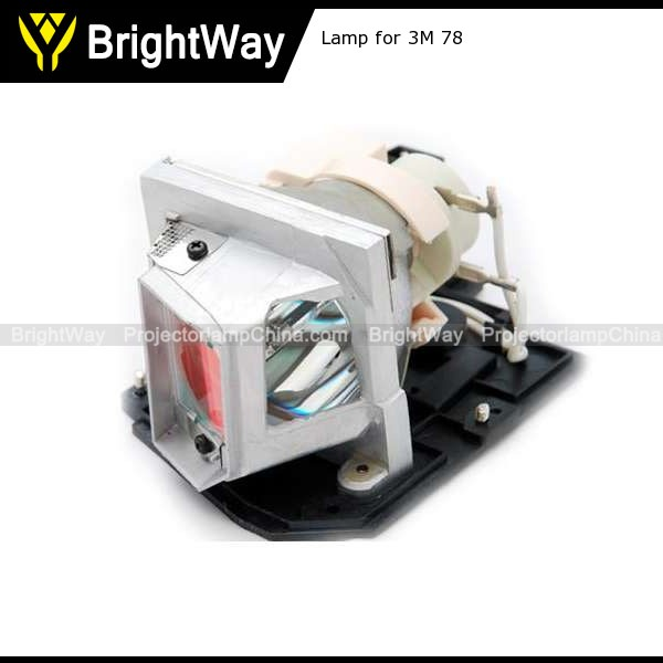 Projector lamp for 3M 78,bulb PN 78-6969-9935-4,78 6969 9935 4