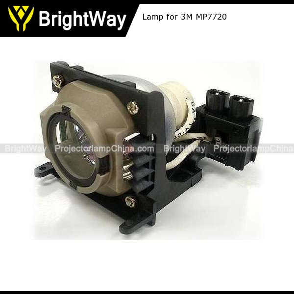 Projector lamp for 3M MP7720,bulb PN 60 J1331 001,EP7720LK,78-6969