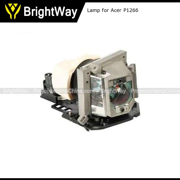 Replacement Projector Lamp bulb for Acer P1266