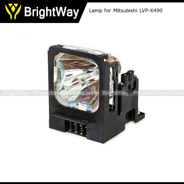Replacement Projector Lamp bulb for Mitsubishi LVP-X490