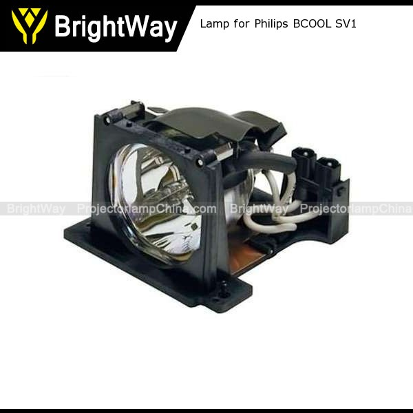 Replacement Projector Lamp bulb for Philips BCOOL SV1
