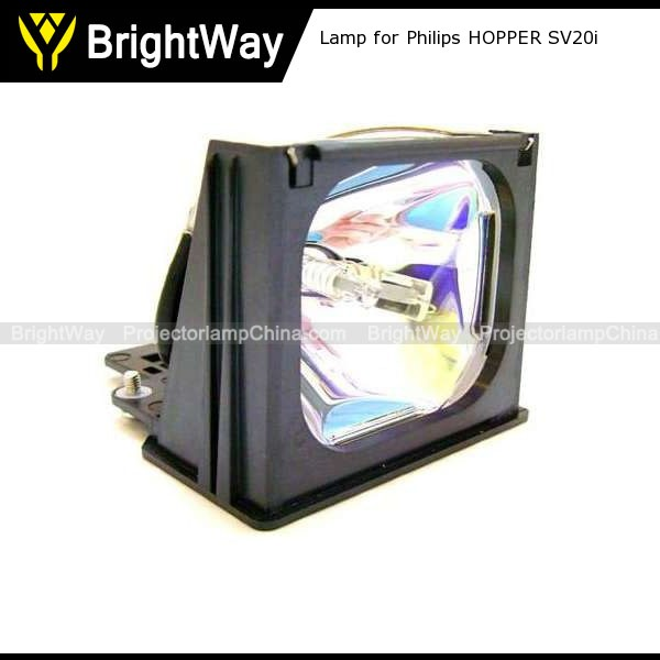 Replacement Projector Lamp bulb for Philips HOPPER SV20i