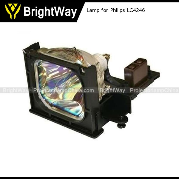 Replacement Projector Lamp bulb for Philips LC4246